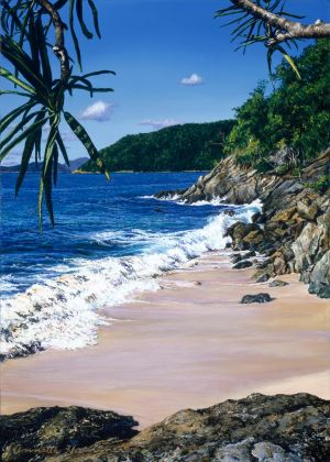 Cinnamon Bay - Commissioned Painting