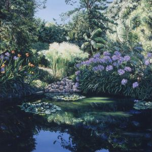 Huntington Gardens - Commissioned Painting
