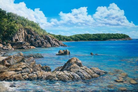 Lameshur Bay - Commissioned Painting