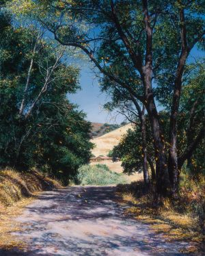 See Canyon Road - Commissioned Painting